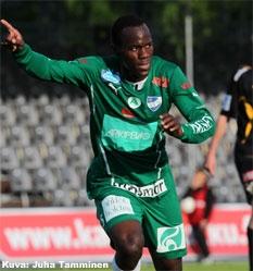 Deven Orgill consiguió un doblete contra TPS | Foto: Juha Tamminen / www.veikkausliiga.fi